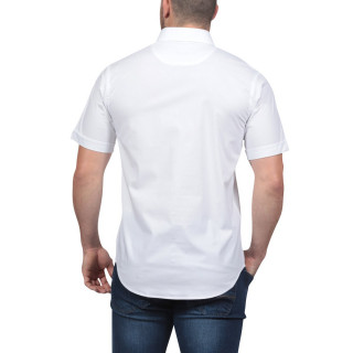 Rugby Essentiel Short-sleeved White Shirt