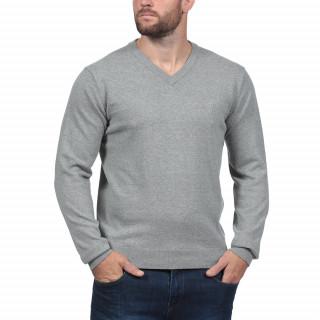 Dark grey V-necked sweater Rugby Essentiel