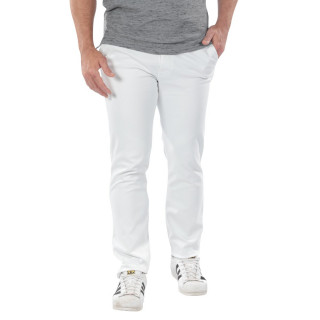 White chino pants from the theme of Rugby Essentiel