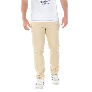 Beige chino pants from the theme of Rugby Essentiel