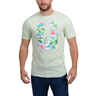 Chabal Island green printed t-shirt