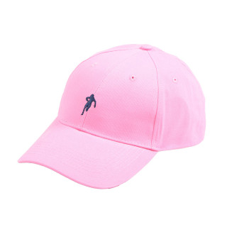 Ruckfield pink cap with Sebastien Chabal's logo