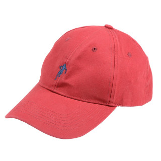 Ruckfield red cap with Sebastien Chabal's logo