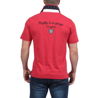 Rugby à la Plage Embroidered Polo Shirt