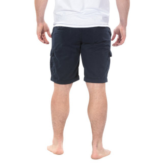 Navy Blue Cargo Bermuda Shorts