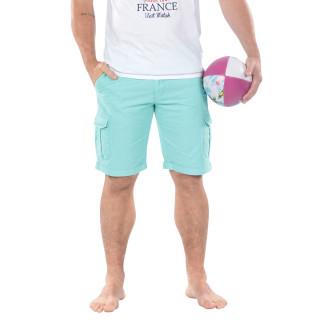 Cargo bermuda shorts for men made in 100% Cotton.