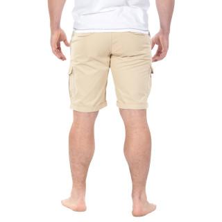 Beige Cargo Bermuda Shorts