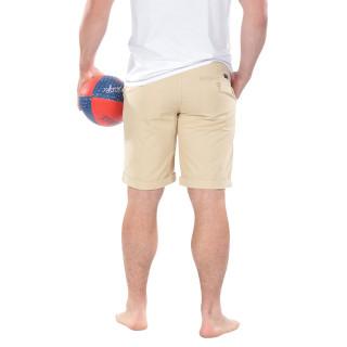 Beige Chino Bermuda Shorts