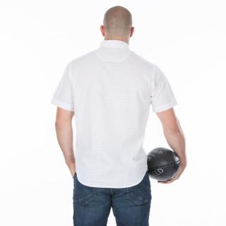 Chemise d'été homme blanche