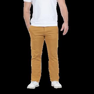 Pantalon chino à la coupe confortable et logo Sébastien Chabal brodé sur poche.