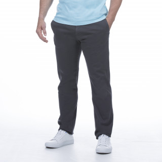 Pantalon chino gris foncé pour homme