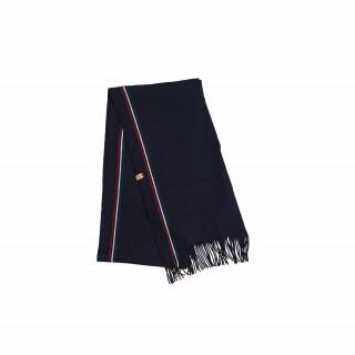 Echarpe en laine bleu marine made in France