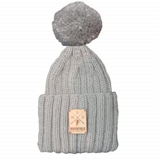 Bonnet en laine mélangée avec pompon amovible. RUCKFIELD X GDGM