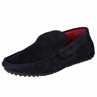 Ruckfield navy blue suede shoes