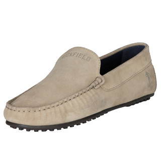 Ruckfield beige suede shoes
