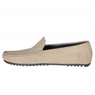 Ruckfield beige suede shoes