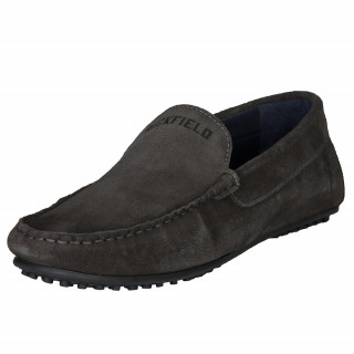 Ruckfield gray suede shoes
