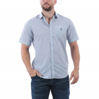 Chemise d'été rugby en coton. Disponible du S au 5 XL.