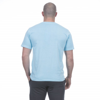 T-shirt homme été turquoise
