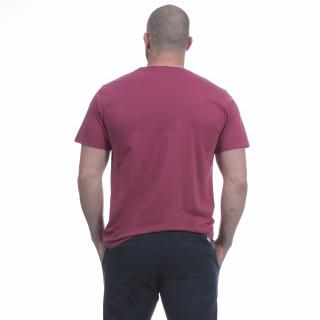T-shirt homme été rouge