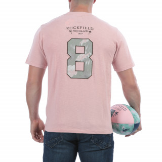 T-shirt rose d'été