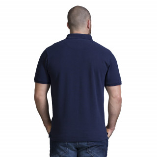Polo homme rugby bleu marine