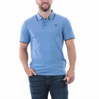 Polo Rugby & Golf  manches courtes en coton mélangé pour plus de confort et d'aisance. Broderie Sébastien Chabal. Disponible du S au 5XL.