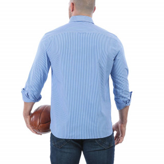 Chemise à rayures ville homme