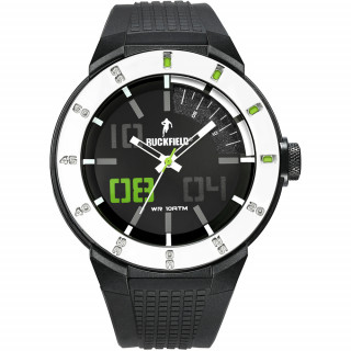 Montre homme silicone black homme Ruckfield