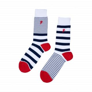 Chaussettes rayées homme disponible en 39/42, 43/46, 47/50
