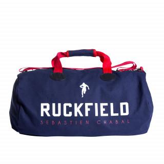 Sac de sport rugby bleu France avec sérigraphie Ruckfield