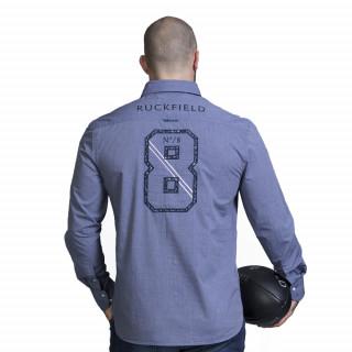 Chemise de rugby bleu