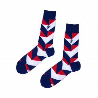 Chaussettes à motifs tricolore. Disponible en 39/42, 43/46, 47/50