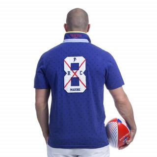 Polo bleu rugby marine