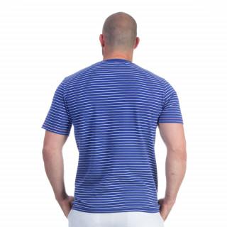 T-shirt marinière bleu rugby