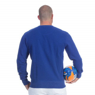 Sweat shirt rugby seven bleu
