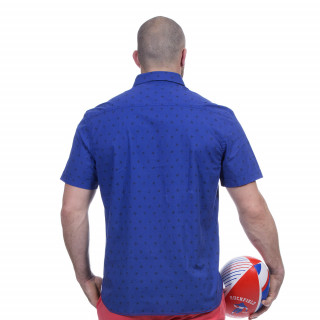Chemise bleu rugby marine