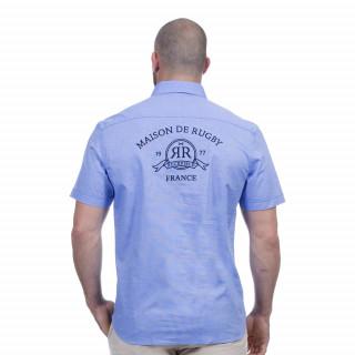 Chemise bleu clair maison de rugby