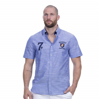Chemise rugby seven bleu