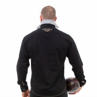 Chemise noir rugby héritage