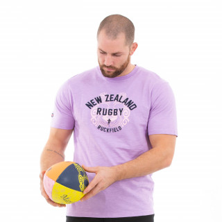 T-shirt manches courtes parme maori rugby