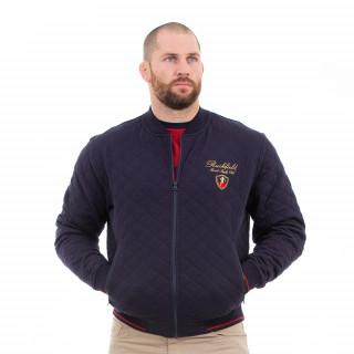 Veste manches longues matelassée du thème French rugby club pour homme