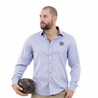 Chemise homme manches longues rugby élégance