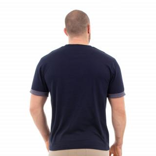 T-shirt marine élégance
