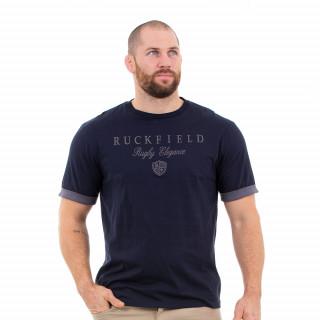T-shirt manches courtes marine pour homme