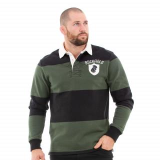 Polo en coton lourd dans un esprit rugby d'époque !