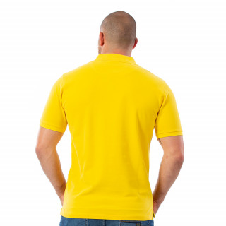 Polo homme rugby jaune