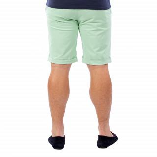 Bermuda homme chino vert