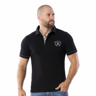Polo manches courtes Maori 100% coton jersey.