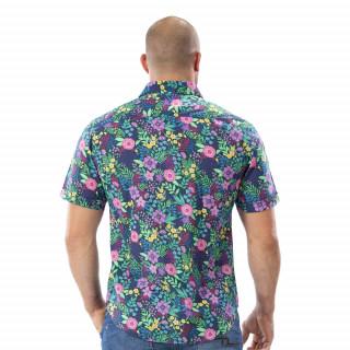 Chemise fleurie Tropical